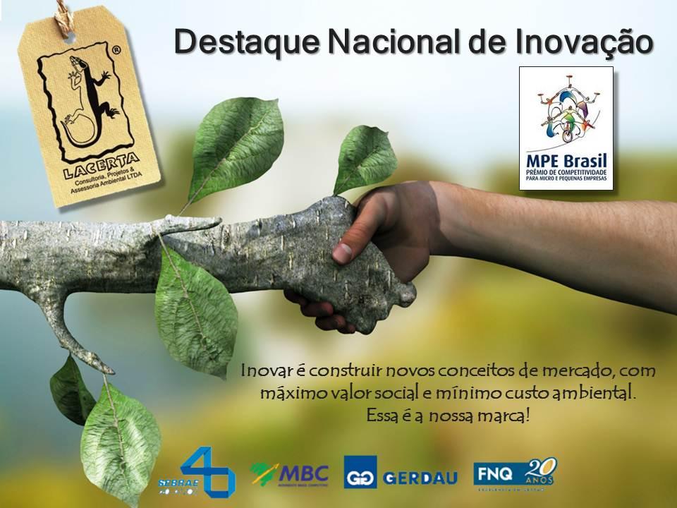 Destaque Nacional de Inovação