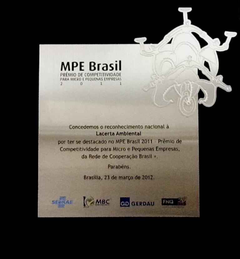 Destaque Inovação - MPE Brasil - 2011